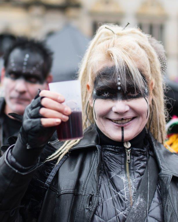 Bremer Karneval Cheers Kostüm