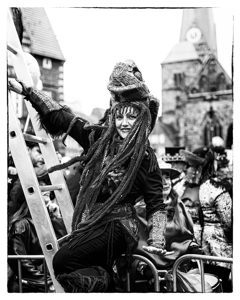 Bremer Karneval Janine Jaeggi