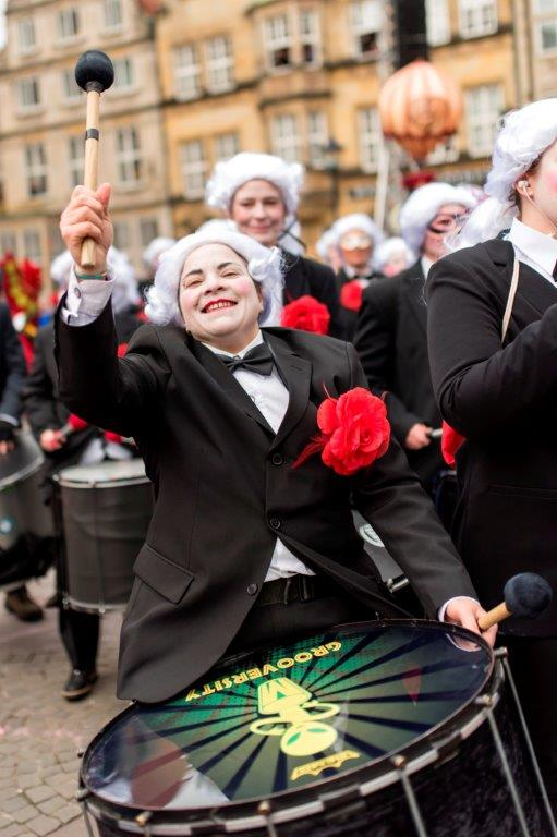Bremer Karneval Sambagruppe