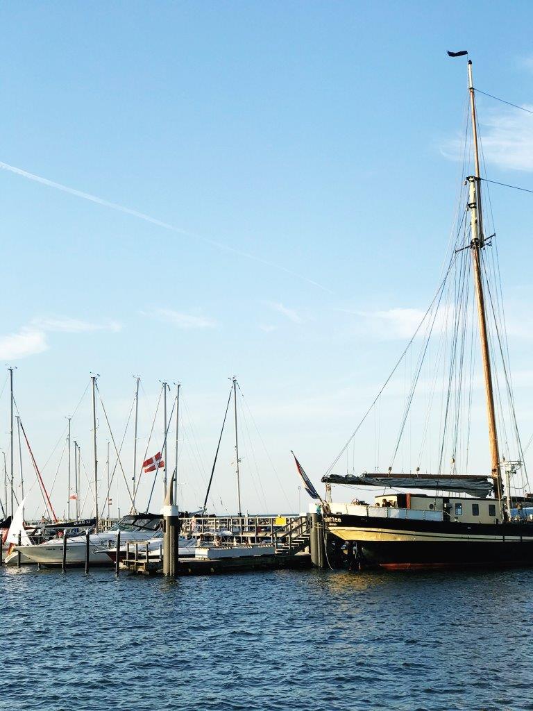 Schiffe, Hafen, Damp, Ostsee