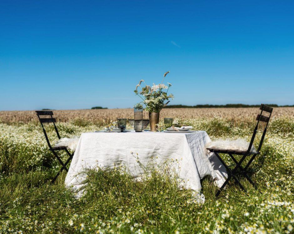 Ein Tisch im Kornfeld, Sommerpicknick