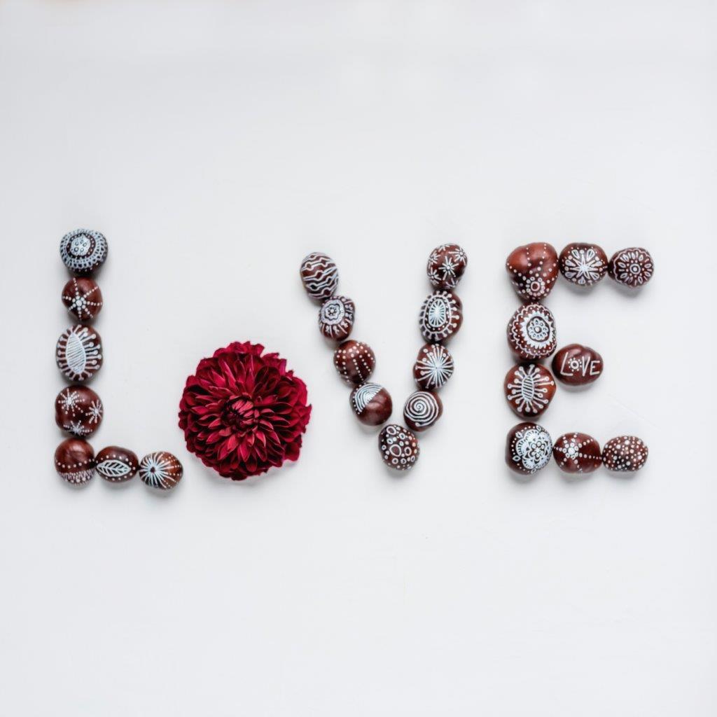 Love, Kastanien, DIY