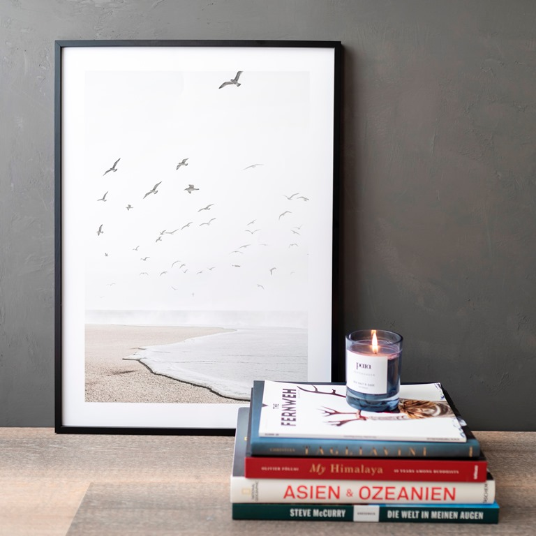 Poster Einsamer Strand